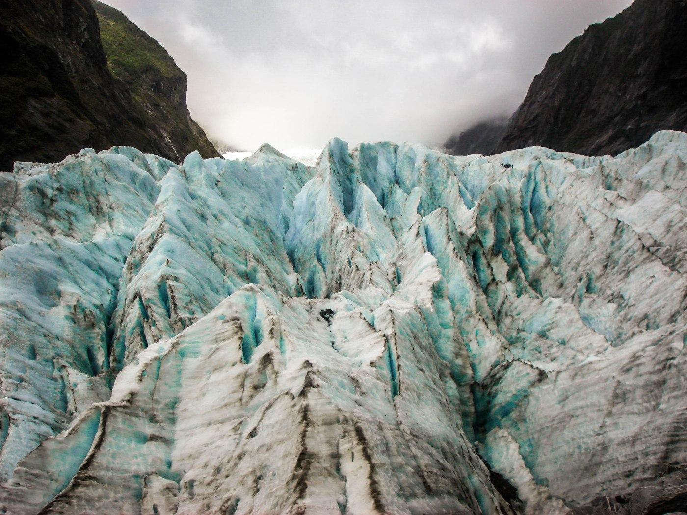 Glacier hiking in Franz Josef