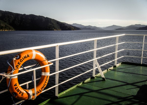 Crossing the Cook Strait on the Interislander ferry