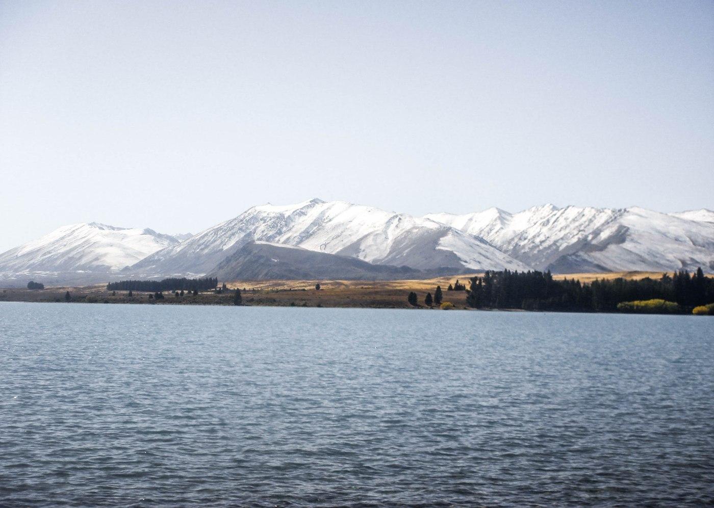 Lakes and waterfalls around New Zealand