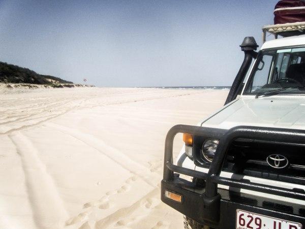 Drive a 4×4 on Fraser Island