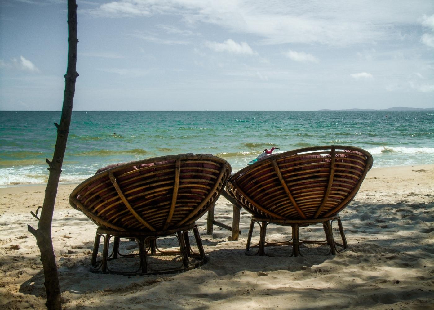 Beach life in Sihanoukville