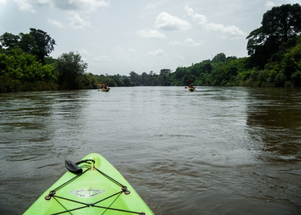 White water kayaking to Vientiane
