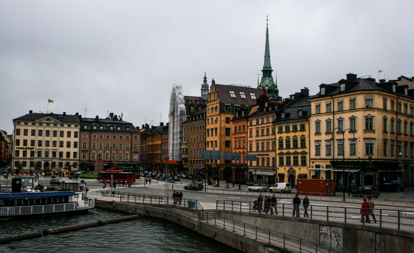 A travellers reunion in Stockholm