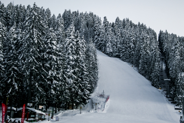 Skiing and Snowboarding in Borovets, Bulgaria
