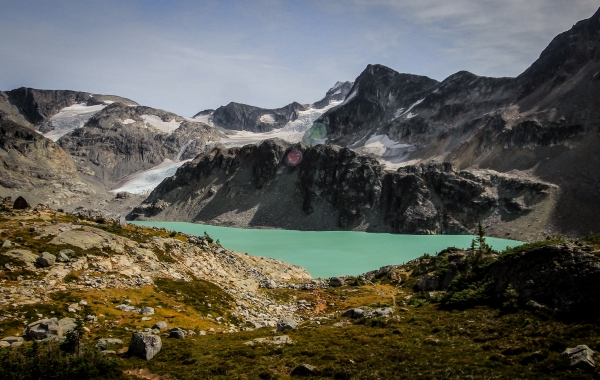 Hiking to Wedgemount Lake