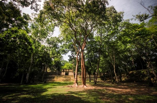 Temples and caves in San Ignacio