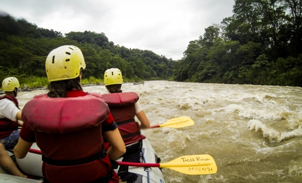 White Water Rafting in Turrialba