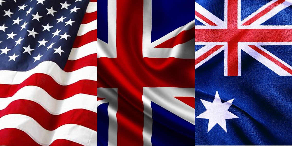 10 differences between America, Australia and England