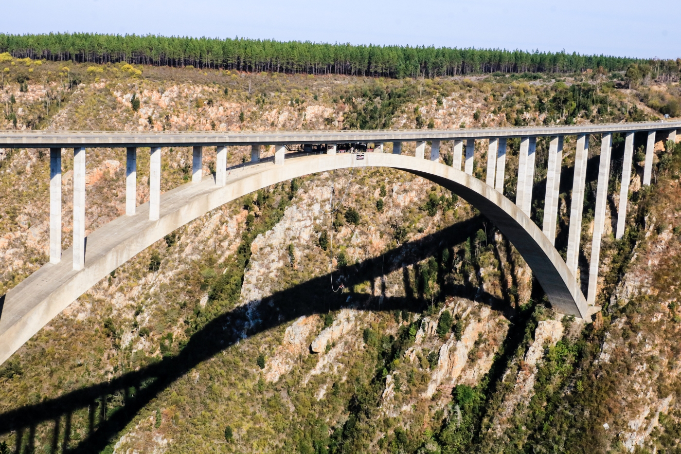 Are you brave enough for the world's highest bridge bungy
