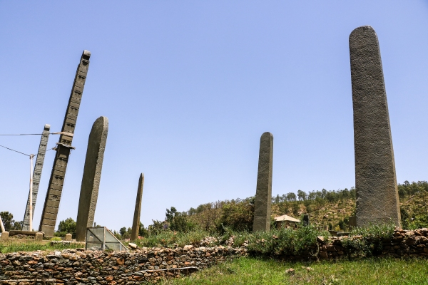 Explore the stelae fields and crumbling ruins of Aksum