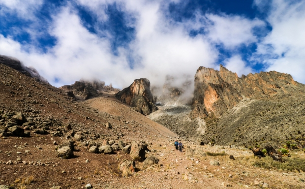Climbing Mount Kenya The Chogoria Shiptons Route