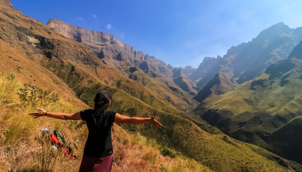 Hiking the Drakensberg Northern Traverse: 65km in 5 days