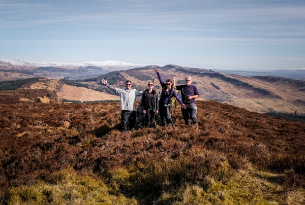 The Gartmore Experience a walking holiday in the hills of Scotland
