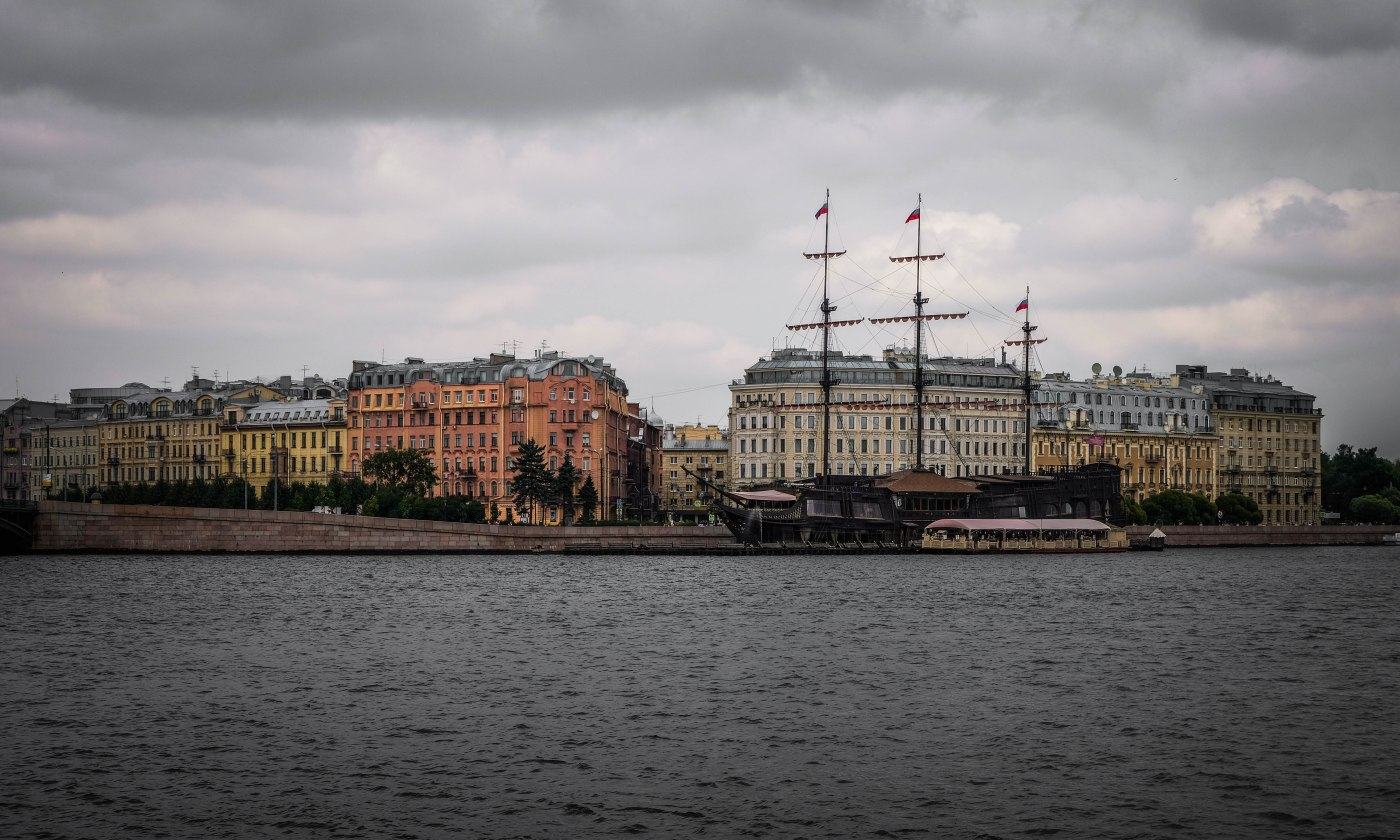A walking tour of St Petersburg
