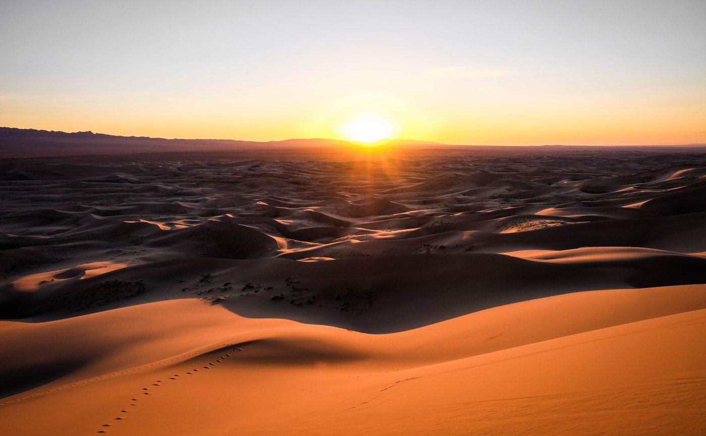 Eight great days in the Gobi Desert