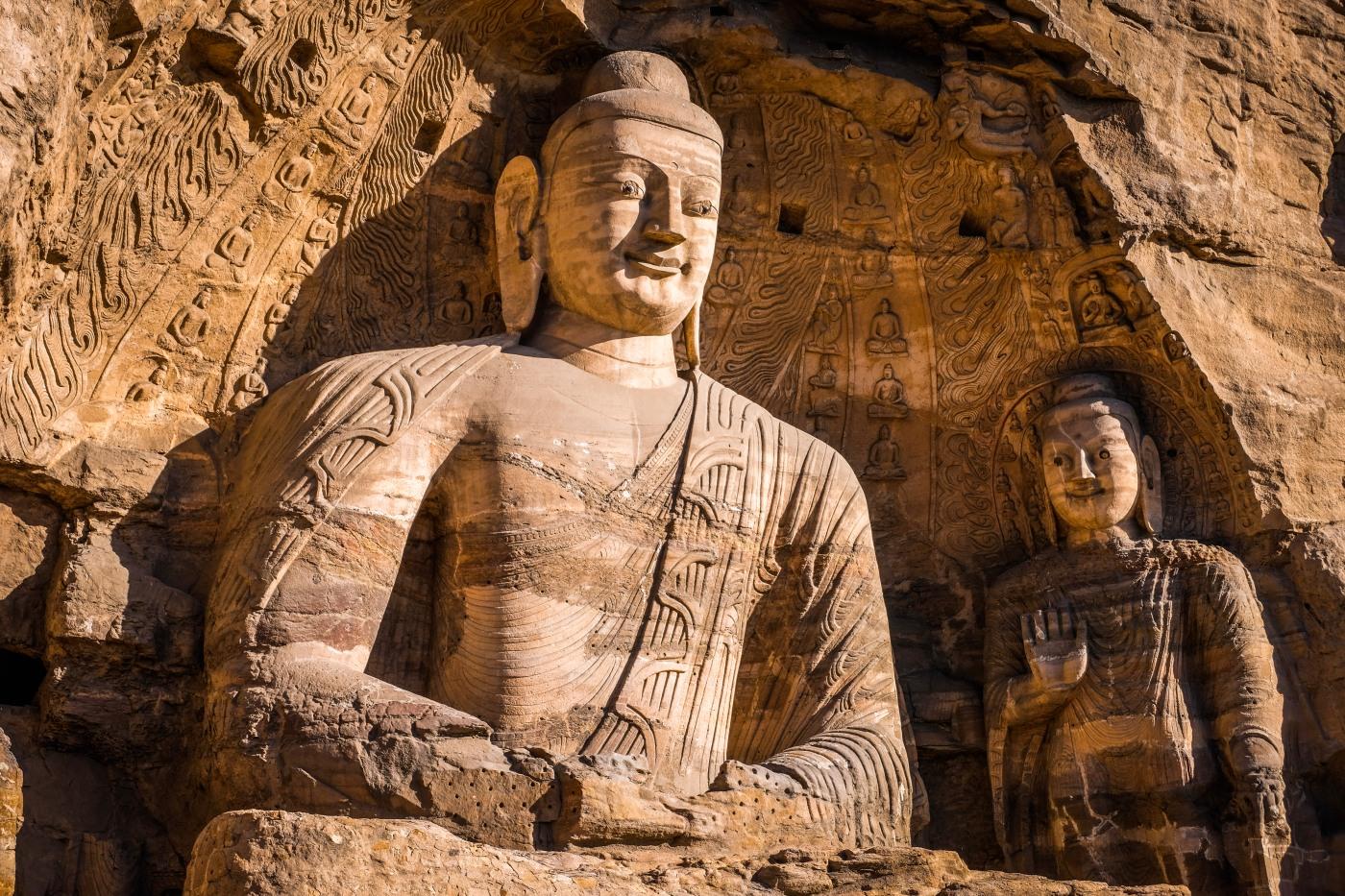 Exploring the Yungang Grottoes in Datong