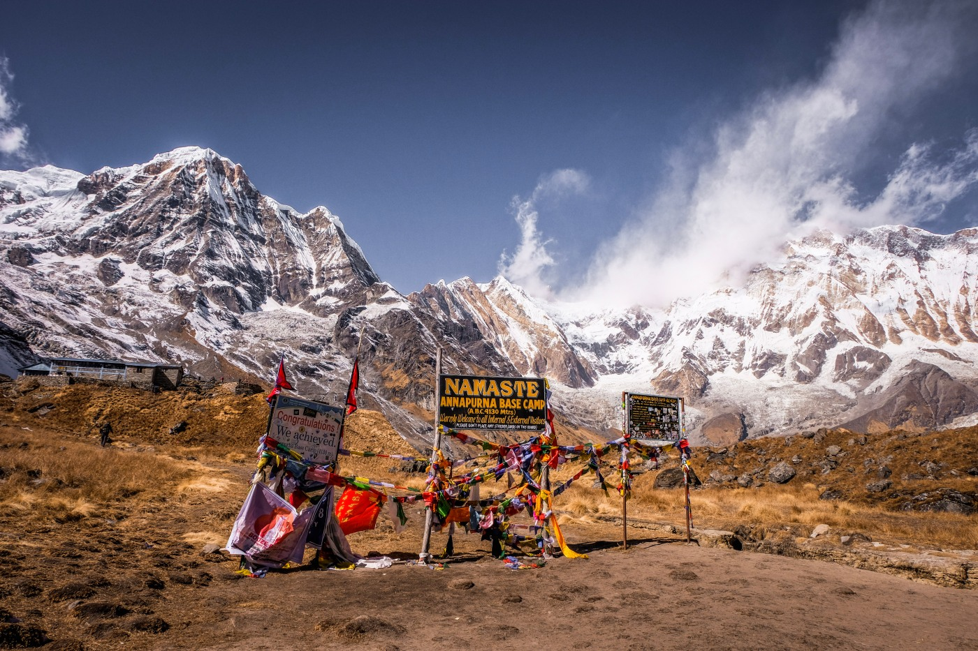 Hiking the Himalayas the Annapurna Base Camp route planner
