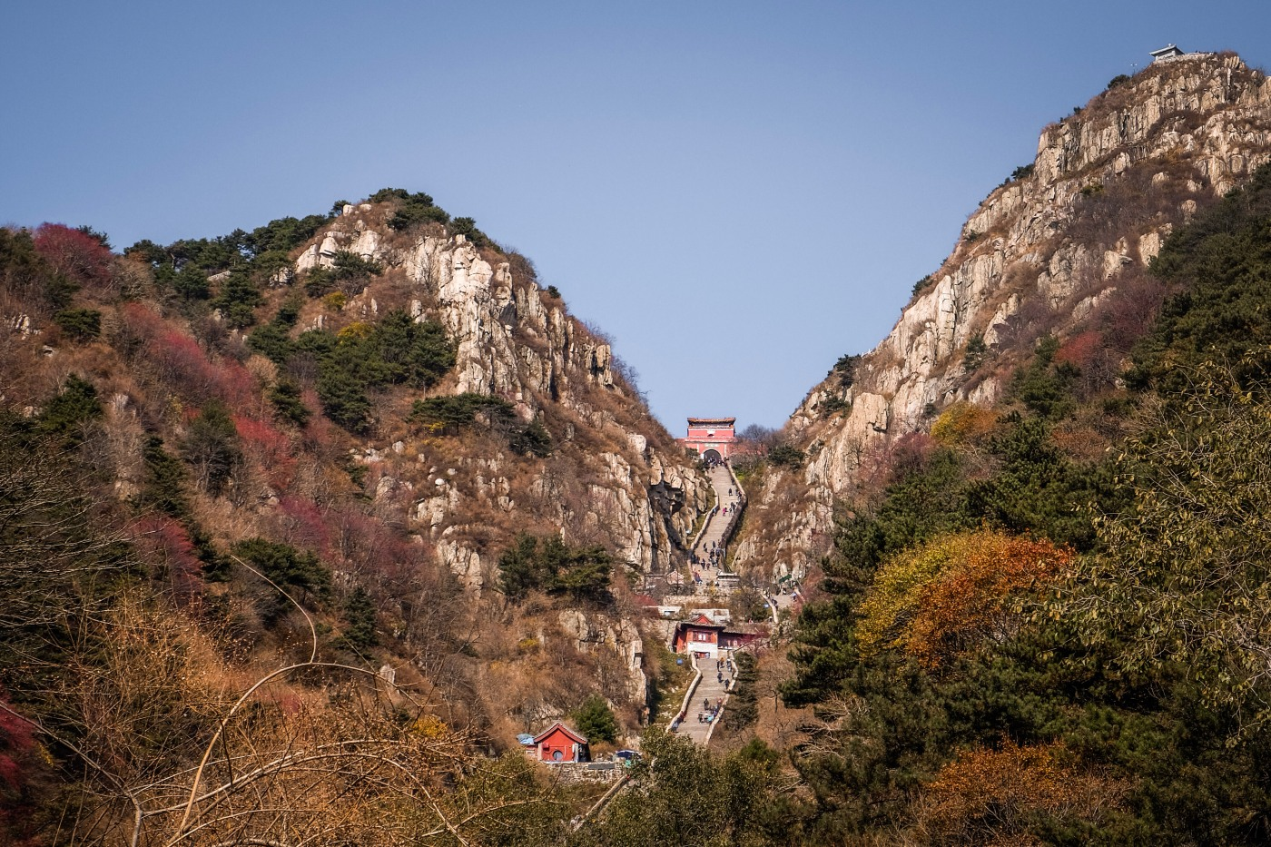 Climbing the 8000 stairs of Taishan