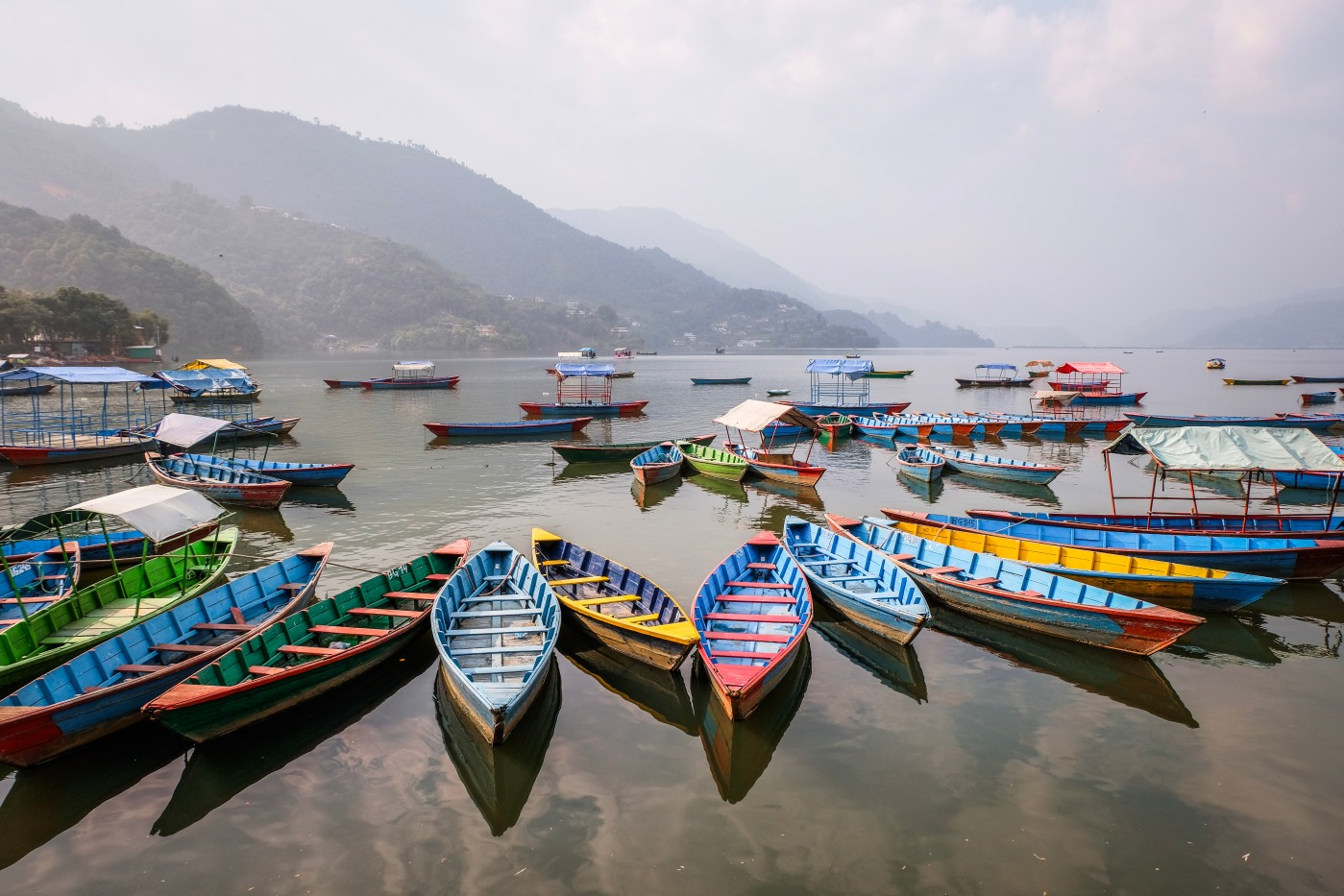 Rest and relaxation in Pokhara