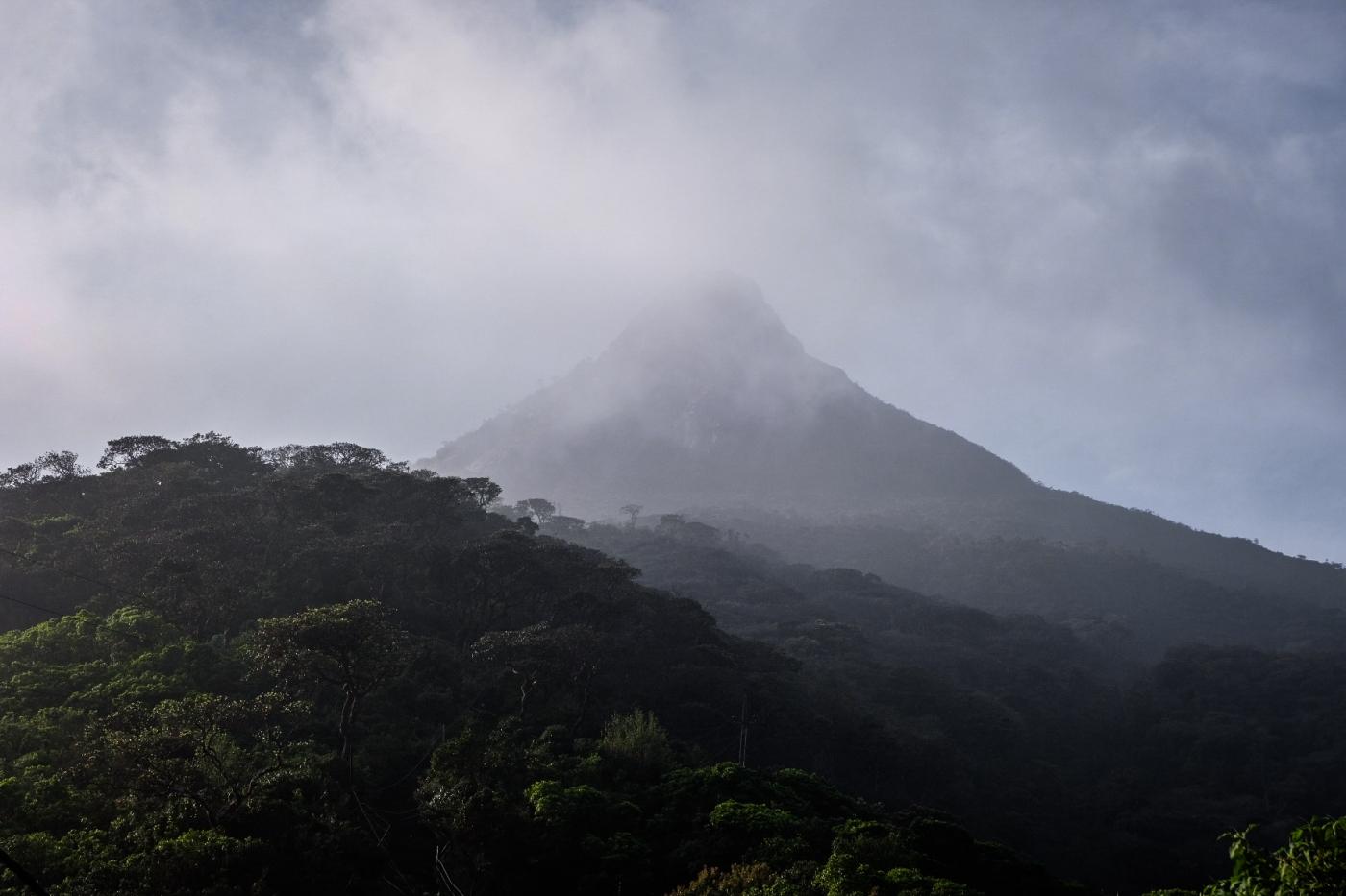 Climbing Adam's Peak for sunrise